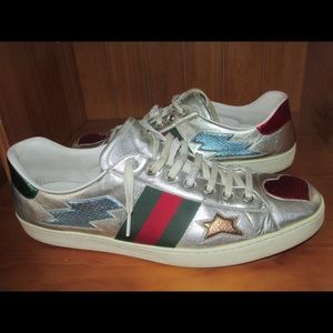 Authentic Men's Gucci Classic Sneakers Size 12